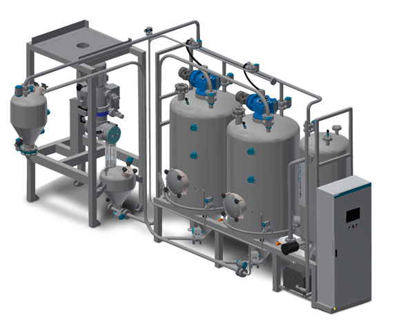 Colombini degassing system